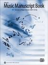 Alfred Music Alfred's Music Manuscript Book (10 stave)