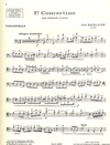 HAL LEONARD Bazelaire: First Concertino, Op. 126 from Deux Concertinos (cello & piano)