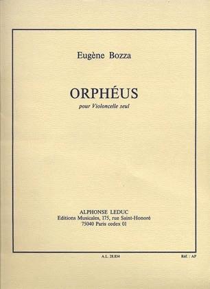 Bozza, Eugene: Orpheus for Cello Solo
