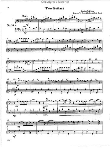 Carl Fischer Clark, Larry & Doris Gazda: Progressive Duets, Vol.2  Easy to Medium (2 cellos)
