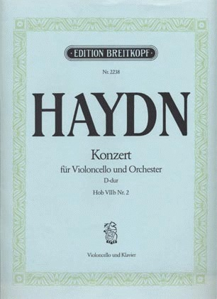 Haydn, F.J.: Cello Concerto Hob: VIIb No.2 d (cello & piano)