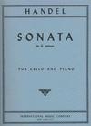 International Music Company Handel, G.F.Sonata in G minor (cello & piano)