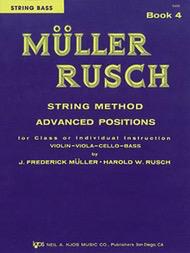 Muller, J.F. & Rusch, H.W.: String Method, Bk.4 (bass)