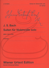 Carl Fischer Bach, J.S. (Leisinger): 6 Suites for Violoncello Solo, BWV1007-1012 - URTEXT (cello) Wiener Urtext Edition