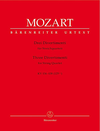 Barenreiter Mozart, W.A. (Fuessl): Three Divertimenti, KV136-138 - URTEXT (string quartet) Barenreiter
