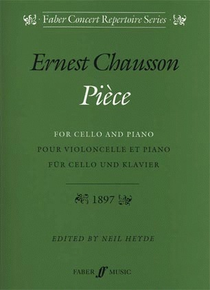 Faber Music Chausson, Ernest: Piece (cello & piano)