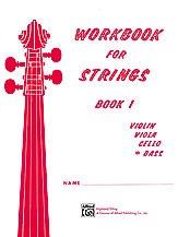 Alfred Music Etling, F.R.: Workbook for Strings, Bk.1 (bass)