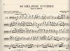 International Music Company Lee, Sebastian (Rose): 40 Melodic Studies, Op.31 Vol.2 (cello)