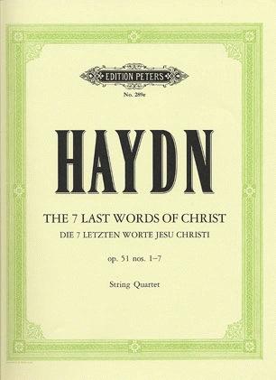 Haydn, F.J.: String Quartet Op.51 No. 1-7 The Seven Last Words