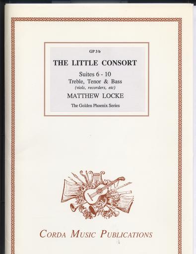 Locke, Matthew (Gammie arr): The Little Consort Suites 6-10 (violin/viola/cello)
