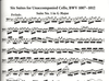 Alfred Music Bach, J.S.: (Dover Score) Complete Suites for Unaccompanied Cello and Sonatas for Viola da Gamba (cello, viola da gamba, and harpsichord)