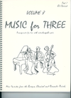 Last Resort Music Publishing Kelley, Daniel: Music for Three Vol.8 More Favorites from the Baroque, Classical & Romantic Periods (Bb clarinet)
