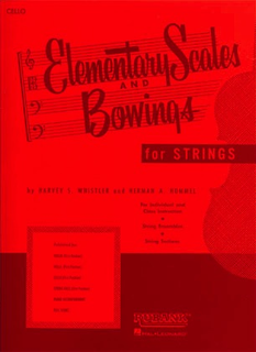 HAL LEONARD Whistler, H. & Hummel, H.: Elementary Scales and Bowings for Strings (cello)