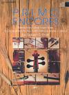 Frost, Robert: Primo Encores (piano accompaniment)