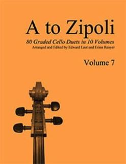 E & E Cello Music Laut, E. & Renyer, E. (arr.): A to Zipoli, Vol.7 (2 cellos)