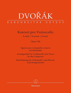 Barenreiter Dvorak, Antonin (Del Mar): Cello Concerto in B minor Op. 104 Barenreiter Urtext