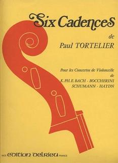 Galaxy Music Tortelier, Paul: 6 Cadences-Cadenzas (Cello)