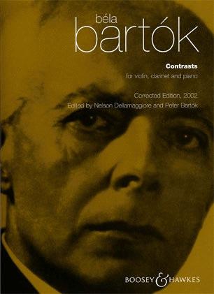 HAL LEONARD Bartok, Bela: Contrasts (violin, Clarinet, Piano)