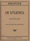 International Music Company Kreutzer, R. (Simandl-Zimmerman): 18 Studies (bass)