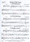 LudwigMasters Montgomery, M. (arr.): 20 Folk Tunes for Cello Quartet or Trio (3-4 cellos, and score)