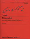 Carl Fischer Corelli, A.: Trio Sonatas Vol. 2, Sonata da chiesa, Op. 2 and Op. 4, urtext (2 violins, cello, and piano)