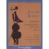 LudwigMasters Kodaly, Zoltan: Cello Sonata Op.4 (cello & piano)