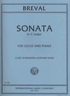 International Music Company Breval (Rose): Sonata No.1 in C Major, Op.40 (cello & piano)