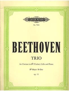 Beethoven, L.van: Trio in Bb Op.11 for Violin (clarinet), Cello, Piano