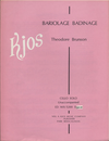 Brunson, Theodore: Bariolage Badinage (cello)