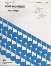 Berger, Jean: Four Bagatelles for Violin & Viola