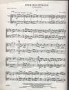 Berger, Jean: Four Bagatelles for Violin & Viola
