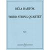 HAL LEONARD Bartok: String Quartet No.3 (string quartet) Boosey & Hawkes