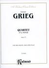 Alfred Music Grieg, Edvard: String Quartet in g minor Op.27