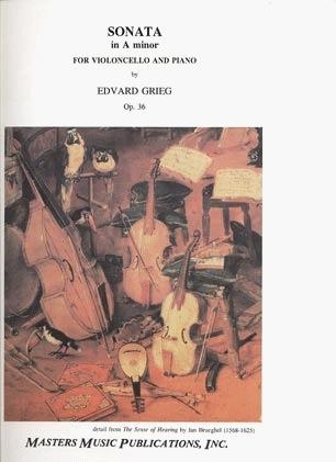 LudwigMasters Grieg, Edvard: Sonata Op.36 in A minor (cello & piano)