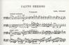 Nielsen, Carl: Canto Serioso for cello & piano