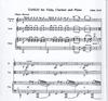 Gorb, Adam: Tango (viola, clarinet & piano)