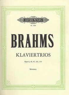 Brahms, Johannes: Piano Trios-Complete (violin, cello, piano)