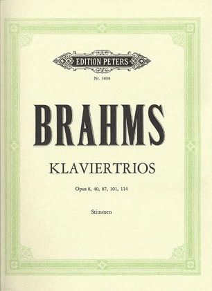 Brahms, Johannes: Piano Trios-Complete (violin, cello, piano)