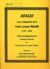 Haydn, F.J. (Krane): Adagio from Concerto in D (cello & piano)
