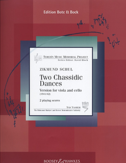 HAL LEONARD Schul, Z.: 2 Chassidic Dances, Terezin Memorial Project (Viola & Cello)