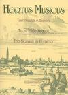 Barenreiter Albinoni, Tomaso: Trio Sonata in B minor Op.1/8 (2 violins, Cello and piano)