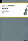 HAL LEONARD Goltermann, Georg (Zumkley): Noctune Op. 125/1 in G major (cello & piano)