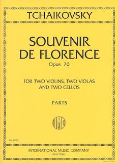 International Music Company Tchaikovsky: Souvenir de Florence, Op.70 (string sextet)