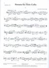 Carl Fischer Hailstork, Adolphus: Sonata for Solo Cello