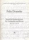 Draeseke: Complete Original Compositions Op.7, 11, 51 (cello & piano)