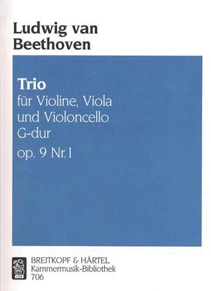 Beethoven, L.van: Trio Op.9 Nr.1 (violin, Viola, Cello)