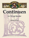 LudwigMasters Atwell, Shirl Jae: Continuen for String Quartet