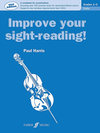 Alfred Music Harris, Paul: Improve Your Sight-Reading, Grades 1-3 (cello)