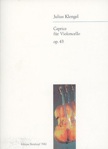 Klengel: Caprice, Op.43 (cello)