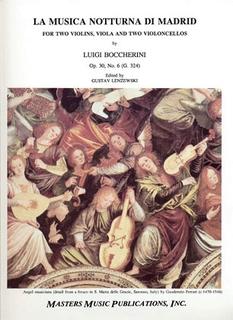 LudwigMasters Boccherini, Luigi: Musica Notturna di Madrid Op.30 No.6 (2 violins, viola, 2 cellos)